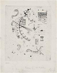 etching for 24 essais de jakovski by wassily kandinsky