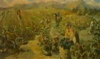 la recolte du raisin by lidia davidenkova