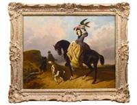 the falconeer by rosa bonheur