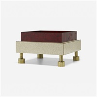 cortile table monument from the bau. haus collection by ettore sottsass