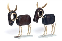 donkeys (2 works) by saim bugay
