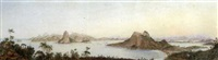 the entrance of the bay of rio de janeiro, brazil by nicolau antonio facchinetti