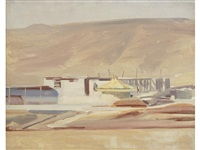 irrigation, zionist development, palestine by david bomberg