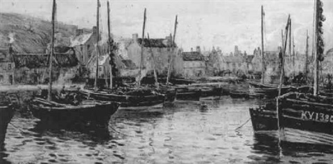 kirkaldy harbor by william carlaw