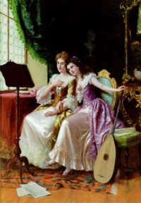 a musical afternoon by luigi sabatini