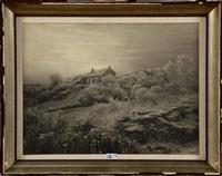 crépuscule d'hiver by léonard misonne