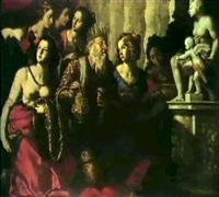salomone che incensa gli idoli by carlo rosa