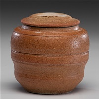 lidded jar by karen karnes