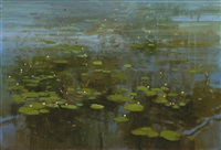 water lilies by bryan westwood