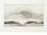 high islands (portfolio of 10) by norman ackroyd