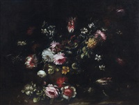 natura morta di fiori by francesco volo