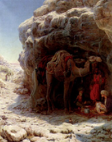 the arab encampment by william j webbe webb