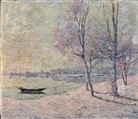 la barque by ferdinand puigaudeau