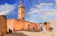 mosquée à el kelaa (maroc) by pierre lissac
