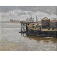 view of yaroslavl by appolinari mikhailovich vasnetsov