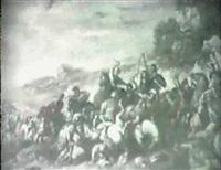 escena de batalla by jean courtois