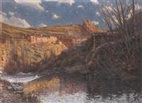 el viejo molino, albarracín by antonio iglesias sanz