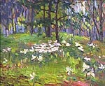 trilliums by lilly osman adams