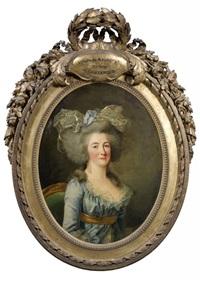 portrait de victoire de maurepas, marquise de coutances by adélaïde labille-guiard