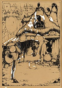 de marskramer (+ 2 others; 3 works) by anton pieck