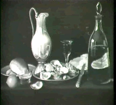 nature morte aux huitres by alexis bascop