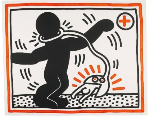 untitled 1 by keith haring