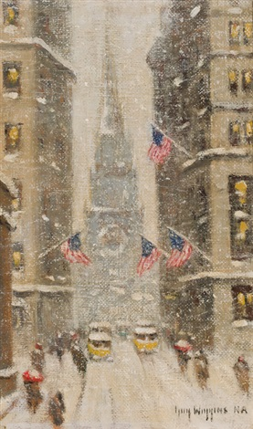 old trinity winter by guy carleton wiggins