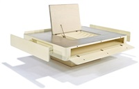 caori coffee table by vico magistretti