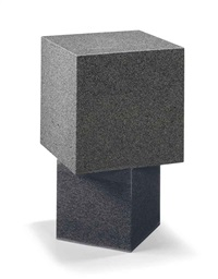 two-cube table by scott burton