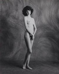 jeune femme nue by jean-francois bauret