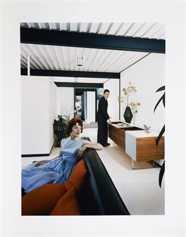 case study house 21 architecte pierre koenig los angeles californie by julius shulman