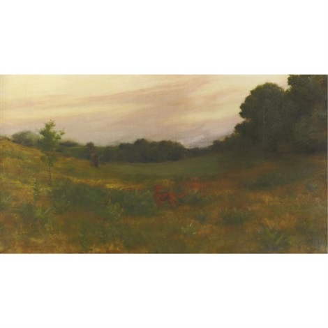 twilight by charles courtney curran