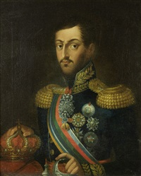 retrato de d. miguel i de portugal by anonymous-portuguese (19)