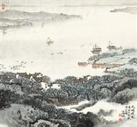 太湖晓色 by song wenzhi