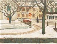 vinter, trosa by reinhold ljunggren