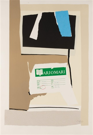america la france variations vii by robert motherwell