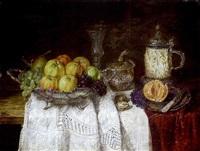 früchtesstilleben by hermann gottlieb kricheldorf