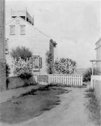 a quite corner, nantucket by j.b. reid