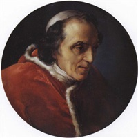 portrait du pape pie vii by vincenzo camuccini