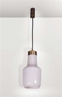 lampada da sospensione by massimo vignelli