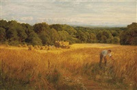 a golden harvest by john clayton adams