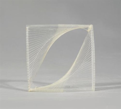 linear construction in space no1 by naum gabo