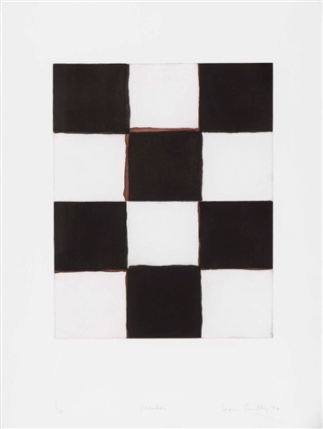 checker by sean scully