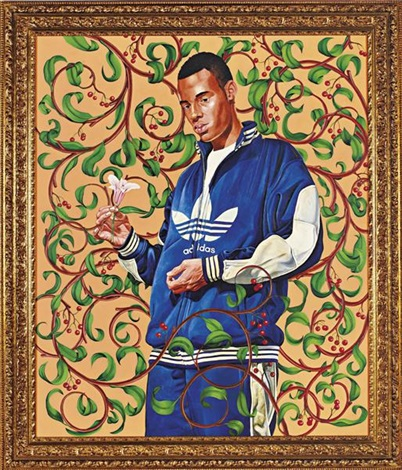 passing/posing (lady innes) by kehinde wiley