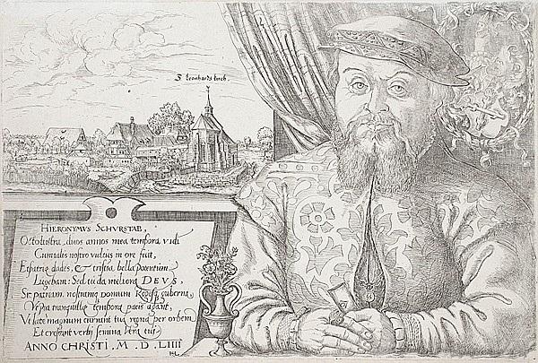 hieronymus schurstab by hans sebald lautensack