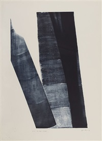 l, 1973-40 by hans hartung