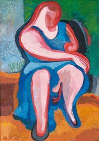 sitzende ii by charlotte hilmer