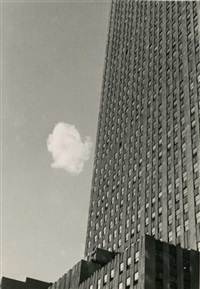 lost cloud, new york by andré kertész