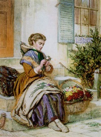 the flower seller by william lucas