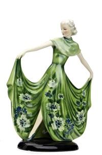 figure of a lady by stefan dakon